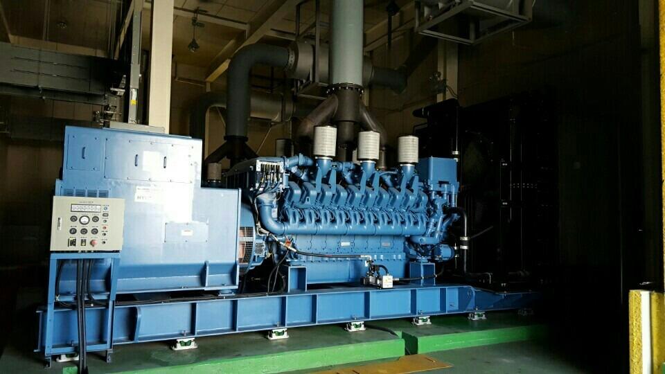 3 X Never Used 2500KW Diesel Generator (MTU) – 360 Turbines